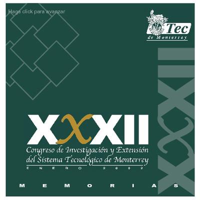 XXXII Congreso de Investigación y Extensión, Tecnológico de Monterrey.
