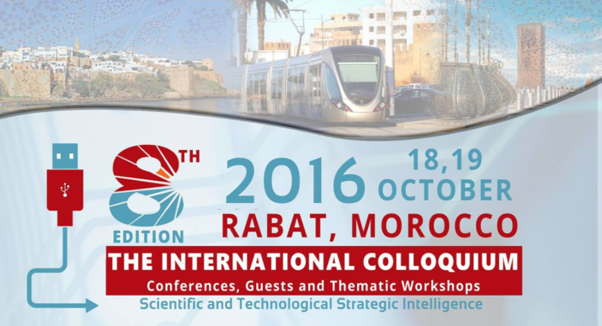 8th International Colloquium on Scientific and Technological Strategic Intelligence 2016