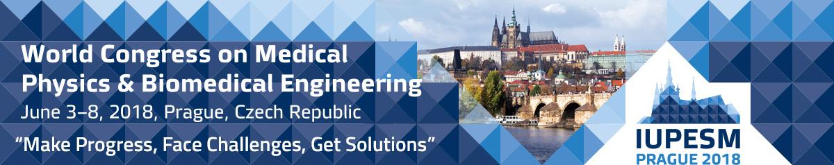 World Congress on Medical Physics and Biomedical Engineering, IUPESM, Prague, Czech Republic