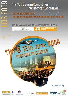 European Competitive Intelligence Symposium - 3rd. Edition