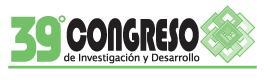 XXXIX Congreso de Investigación y Desarrollo, Tecnológico de Monterrey,