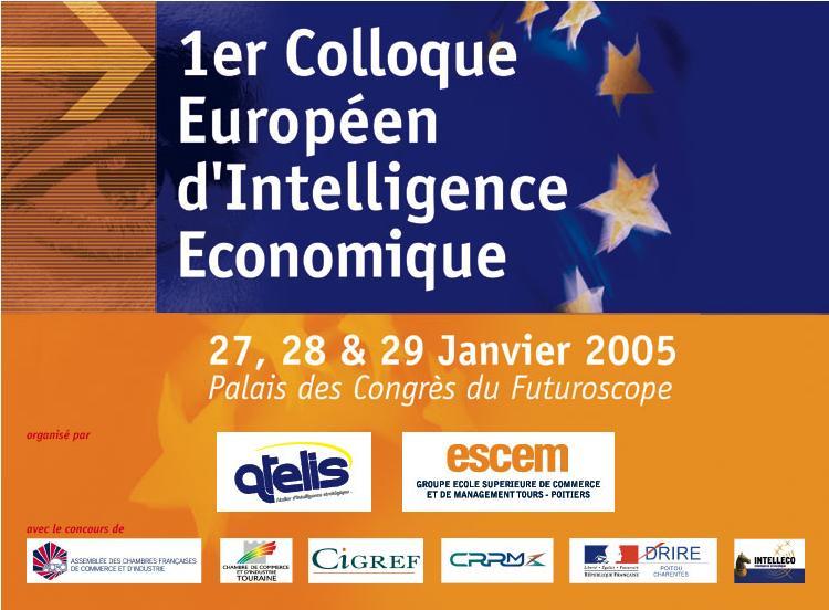1er Colloque Européen d'Intelligence Economique