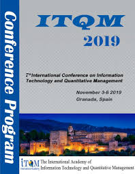 7th International Conference on Information Technology and Quantitative Management (ITQM 2019)