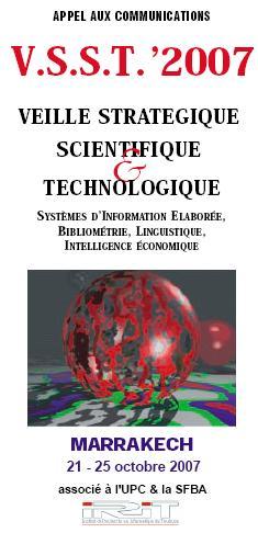 Veille Stratégique Scientifique & Technologique